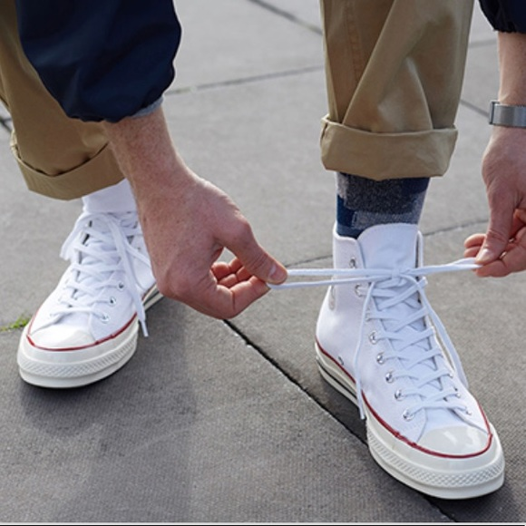 ... Converse Adult Vulc All Star White HT M AUTHENTIC best authentic 1cc10  31563  NWT ... e2692ff25